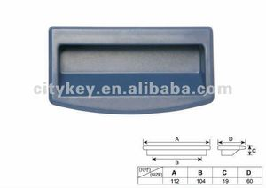 Plastic handle for cabinet 87534