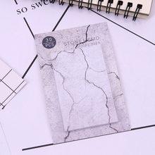 1 шт. милый кавайный камень креативный блокнот для заметок записная книжка канцелярские бумажные наклейки офисные школьные принадлежности(Китай)