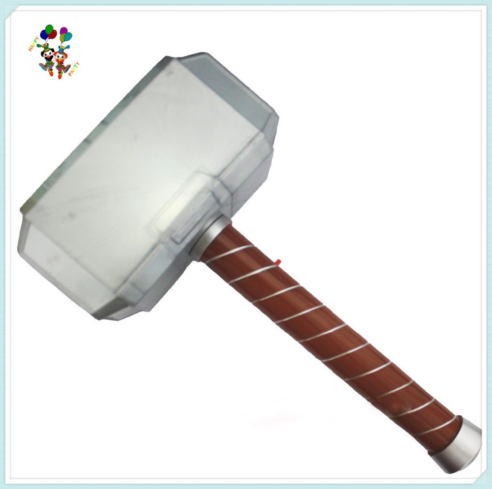 Kids Cosplay Party Fancy Dress Costume Plastic Toy Thors Hammer HPC-0962