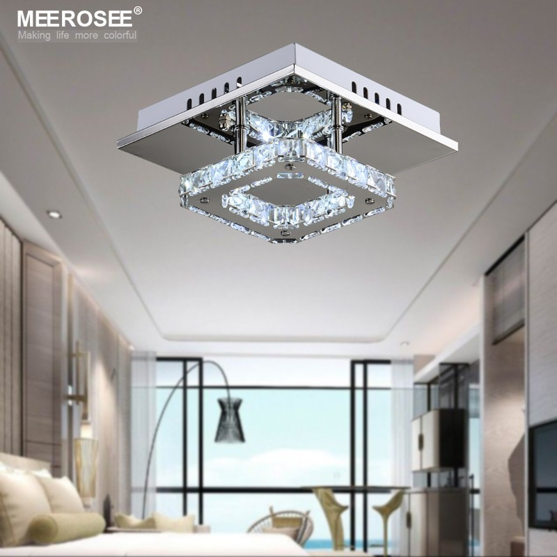 Square LED Crystal Chandelier Light for Aisle Porch Hallway Stairs wth LED  Light Bulb 12 Watt 100% Guarantee - us987 7083650ed2fe