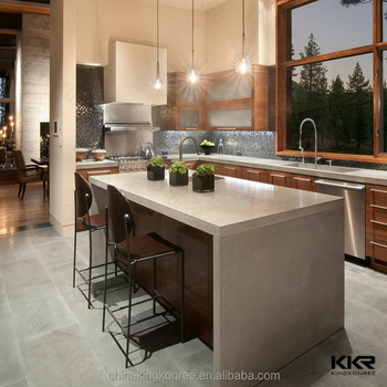 Kkr Free Standing Kitchen Counter Coffee Bar Modern Restaurant