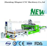 Table moving automatic loading and unloading cnc router for wooden door design cnc router For Kitchen Cabinet Door