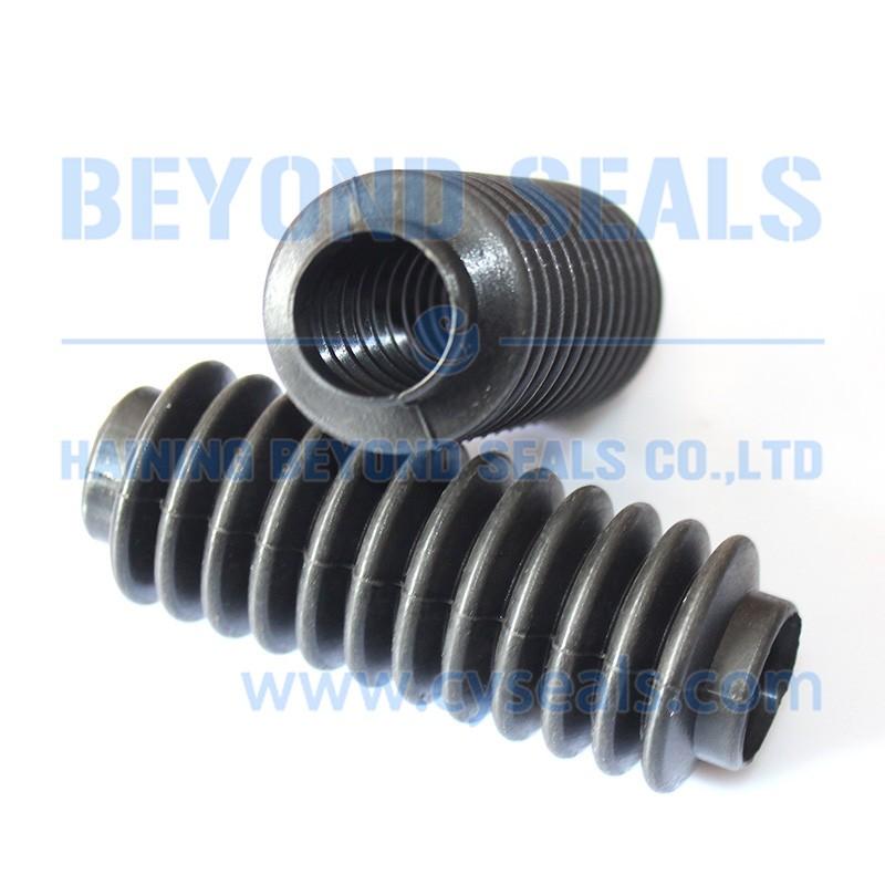 Custom rubber bellows tube buy small