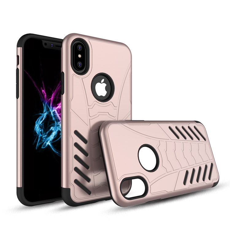 Nova Chegada Eco-Friendly Anti Gota Tpu + Pc Bat Ares Fantasia Casos de Telefone Para O Iphone x