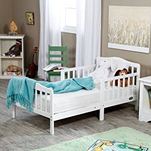 The Orbelle Contemporary Solid Wood Toddler Bed - by Orbelle