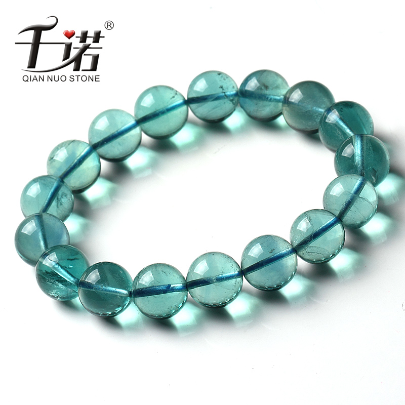 5a blue natural fluorite bracelet accessories bracelet attractive female of clear