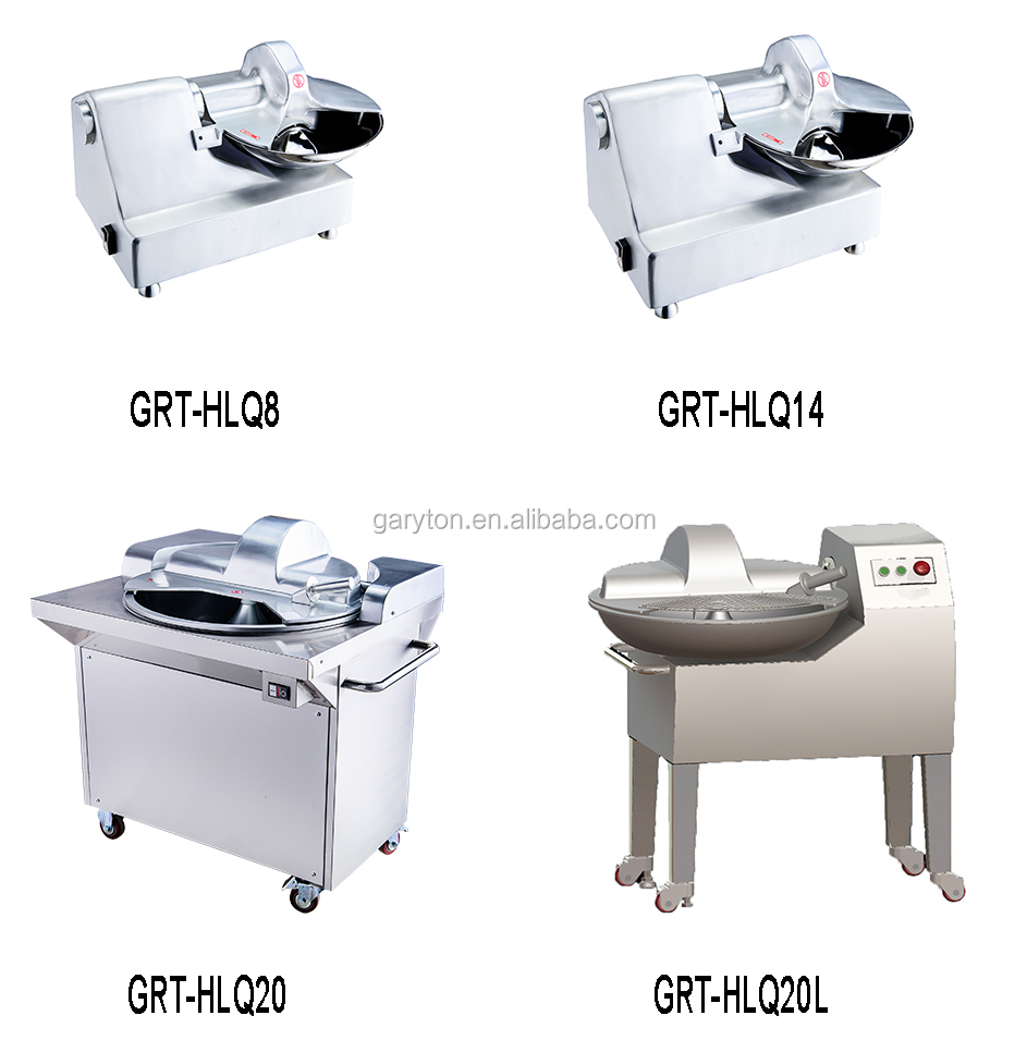 GRT-HLQ20L High Quality Buffalo Choppers Meat Bowl Cutting Machine For Sale
