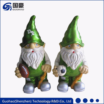 Cheap Sports Theme Green Mini Garden Gnome Supplier Buy Garden