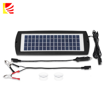 Solar Trickle Car Charger With 1.5W, 12V Battery Charger