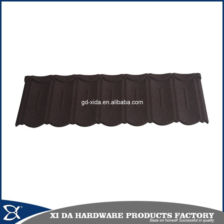 New innovation building material modern stone coated steel roof tile