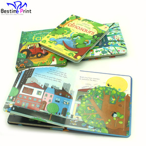 High Quality Kids Board Book Printing On Demand Service