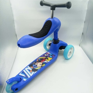 Genuine and new in stock chips two wheel balance kids scooter front with chair footed scooters certificate