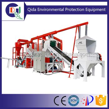 Qd-1000a Scrap Radiator Copper And Aluminium Recycling Plant - Buy Scrap Radiator Copper And