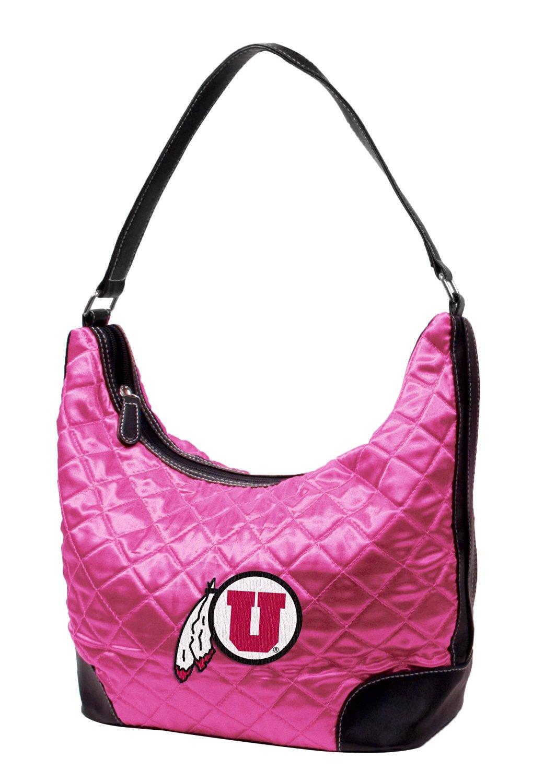 NCAA Utah, Pink Quilted Hobo