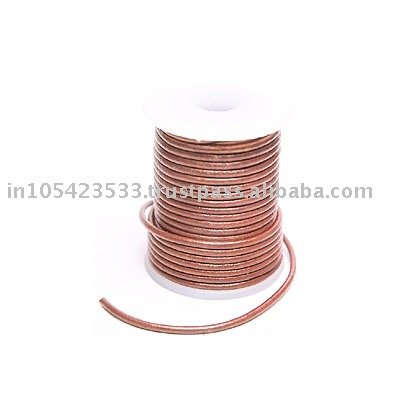 3mm Round Leather Cord String