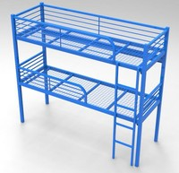 General Used Metal Triple Bunk Bed For Kids