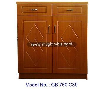 Wooden MDF Furniture Shoe Cabinet + 2 Drawers, Wooden Shoe Cabinet Design,  Rack Malaysia