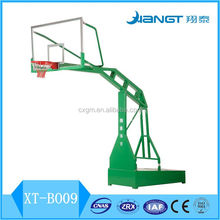 Manual hydraulic systerm basketball stand standard backboard basketball hoop