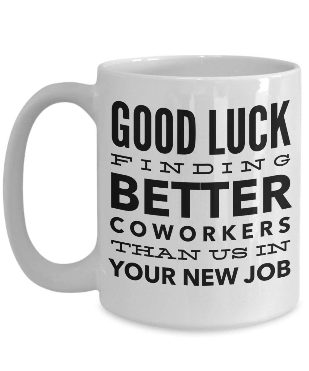 5b2e5d69626f Bye Coworker - Congrats On Your New Job Mug - Coworker Leaving Gifts - Funny  Coworker
