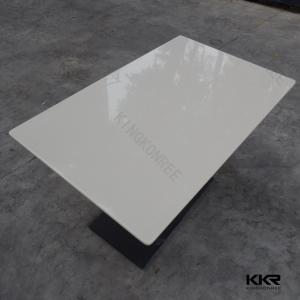 solid surface short leg japanese dining table