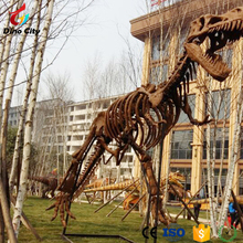 High simulation life size dinosaur skeleton replicas for sale