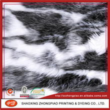 Hot selling cheap custom faux fur fabric long pile