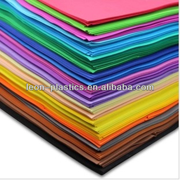 colorful high quality eva foam goma eva