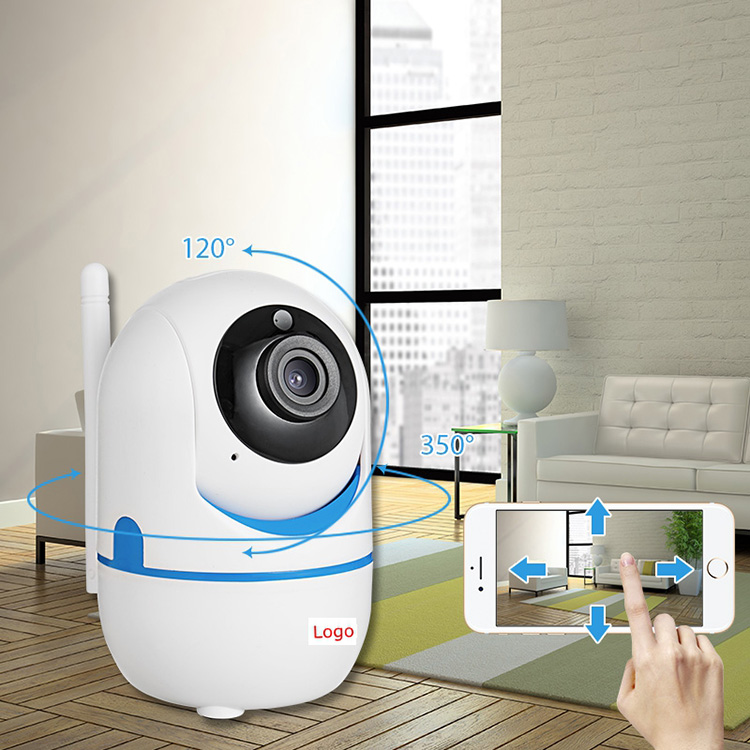 Lovely mini baby monitor yellow color for option 1080P Wireless CCTV home security IP Camera