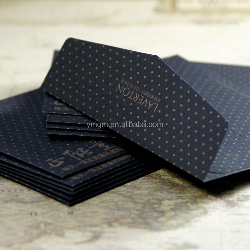 Matt Black Card Paper Envelope In A4 A5 B5 C5 C6 A3 Size With ...