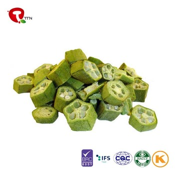 TTN Low Price Sales Freeze Dried Okra