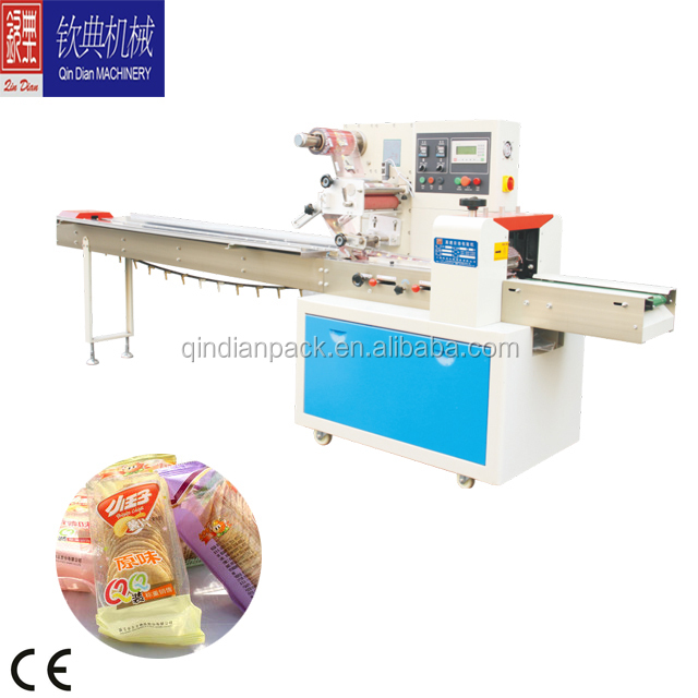 makeup cotton Flow Packing Machine/Factory price toilet seat hinge flow wrap packing machine