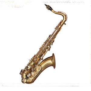 Professional grade tenor saxophone, antique bronze color, italian pro pisoni pads
