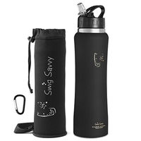 Single Wall 700ml Stainless Steel Drink Bottle With Custom Logo Printing