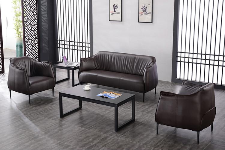 Comfortable 3 Seater Leather Sofa Set