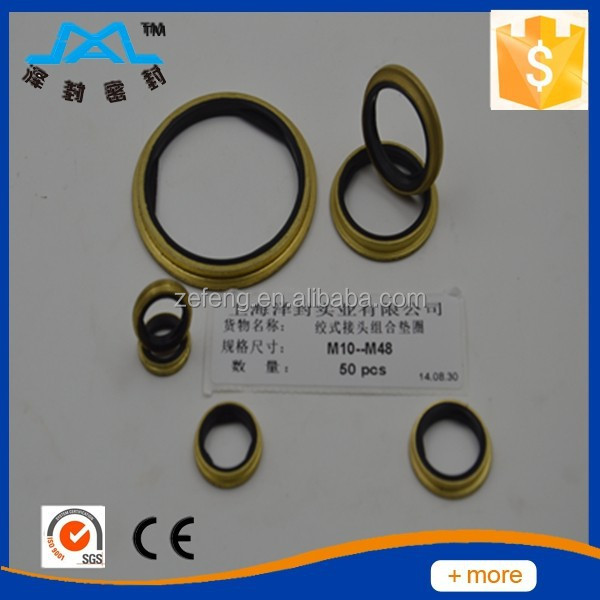 Hot Selling Bonded Seal,Brass Flat Washer,Copper Washer