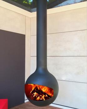 Modern Design Wood Stoves Golner Suspended Burning Stove