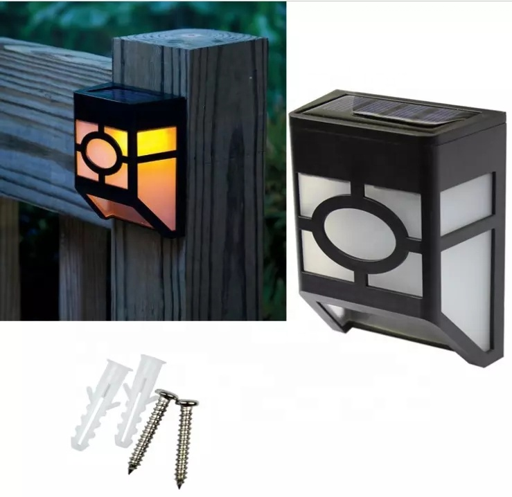 2019Hot Sales Solar Sensor Waterproof Mounted <strong>Led</strong> Garden <strong>Outdoor</strong> Solar Fence Wall <strong>Lights</strong>