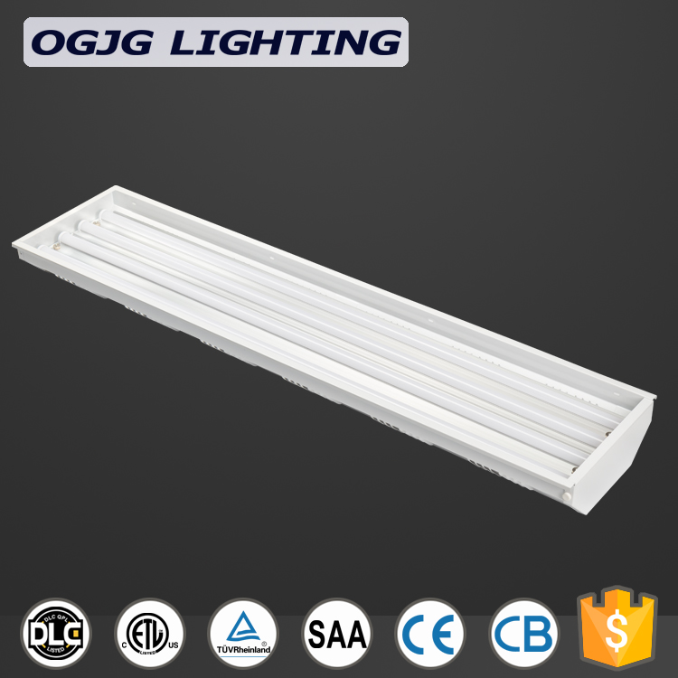 DLC listed workshop Epistar chips 100lm/w 4ft 5ft 160w 300W industrial LED high bay lamp