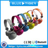 China factory Multi-funtion bluetooth headset with MP3 player, hi-fi Bluetooth stereo headphones