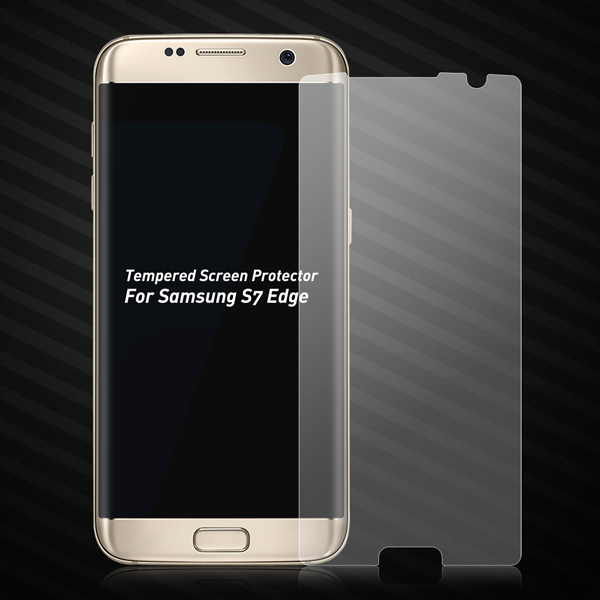 Mobile Phone Tempered Glass Steel Protective Film For Samsung S7 edge