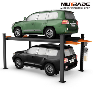 3600 kg 3200 kg 3.2 tons 3.6 tons T 7000 lbs 8000 lbs 2 Cars 4 Post Four Column Hydraulic Car Lift