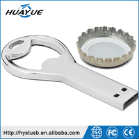 Good Quality Beer Bottle Opener USB Flash Drives Metal 64GB USB 2.0 Thumb Stick