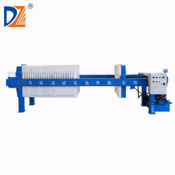 630*630mm Hydraulic filter press dewatering system