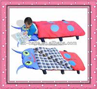folding canvas bed baby sleeping bag