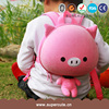 Supercute brand pink pig design kid's favorite backpack with zipper