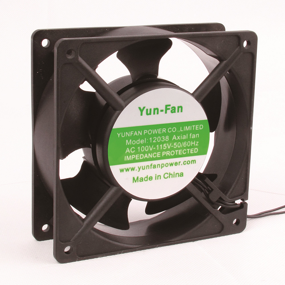 220V EC <strong>fan</strong> 12038 120mm Pop plastic frame energy saving cooling <strong>fan</strong> in china