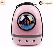 fashionable design lovely shape cats carrier backpack small animal carrier house