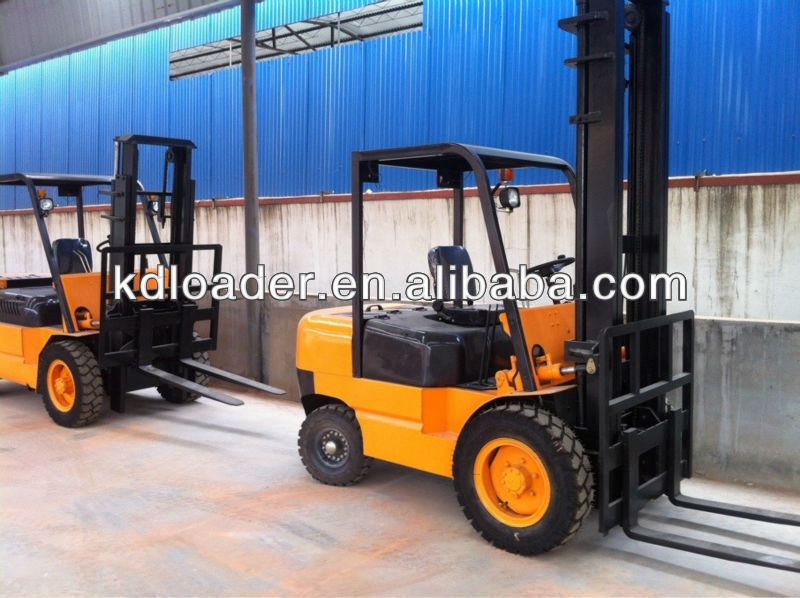 1.5T Small Diesel Forklift For Sale With Electric Start