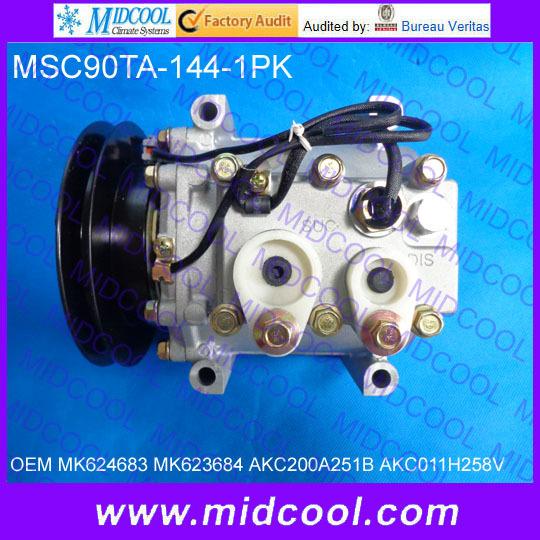 New A//C Compressor For MK624683 Mitsubishi Rosa Bus