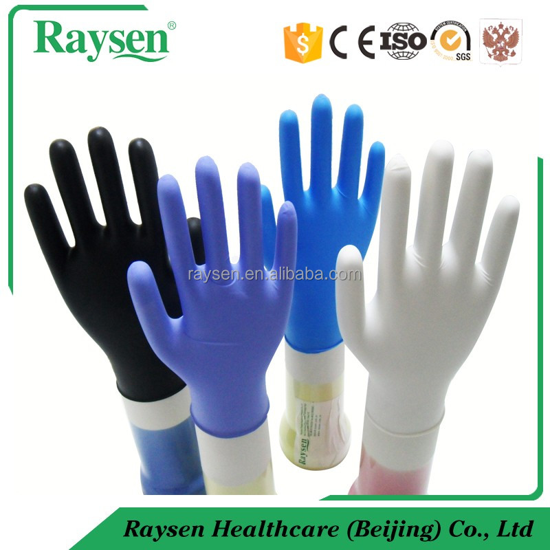 CE Disposable Latex Free Exam Gloves/Nitrile Gloves